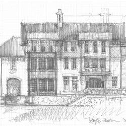 Lafayette Elev sketch
